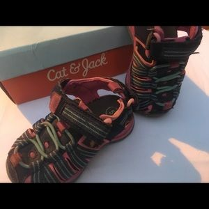Cat & Jack Rory Camp Hiking Sandal (baby girl 5)